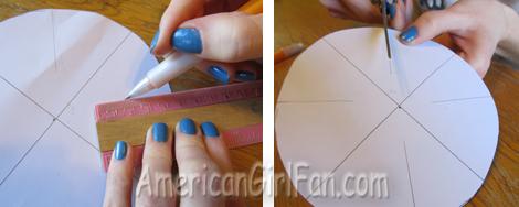 Draw and cut slits