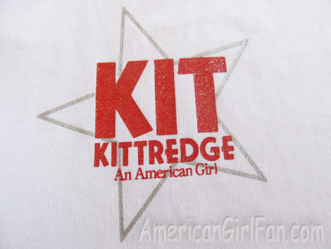 Logo on shirt
