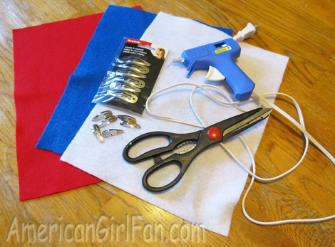 Supplies for hairclips