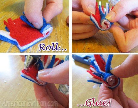 Roll and Glue
