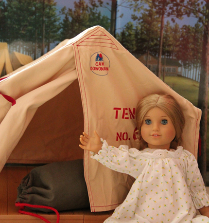 Amelia and Grace had a great day but soon it was time for bed. That night the girls were going to sleep in a platform tent. Grace had never slept in a ...  sc 1 st  AmericanGirlFan & From a Friend: A Girl Scout Camping Trip Story! (AmericanGirlFan)