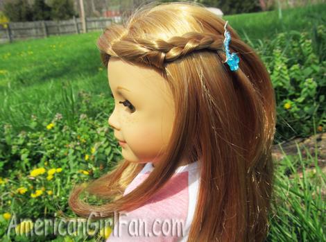 Mia's side braid