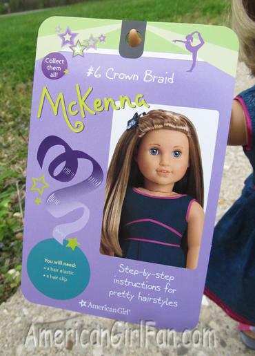 McKenna Hairstyle Card front