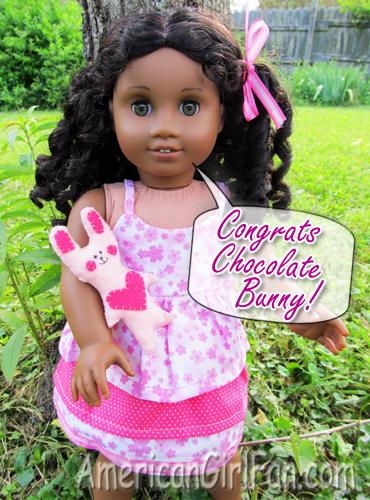 Congrats Chocolate Bunny