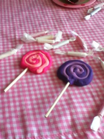 Taffy and Lollipops