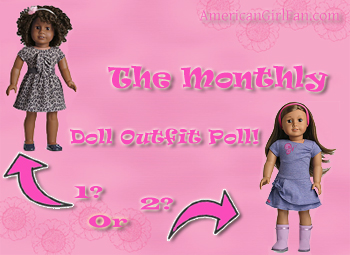 The Monthly Doll Outfit Poll Sign for site