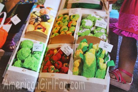 Tissue paper veggies