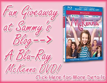 Sammy blog mckenna giveaway