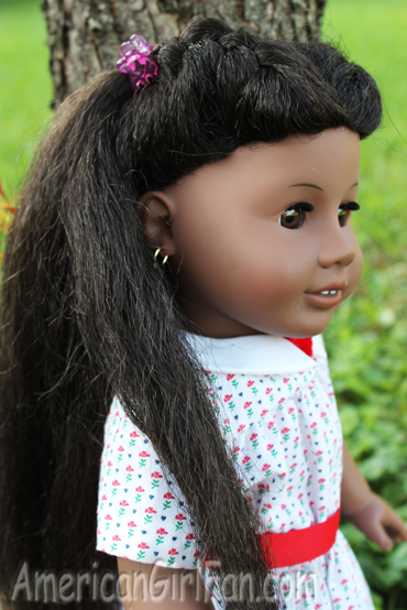 Cute and Easy Doll Hairstyles on Addy! (AmericanGirlFan)