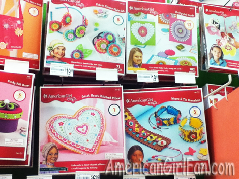 Historical american girl crafts at michaels americangirlfan for Where is michaels arts and crafts