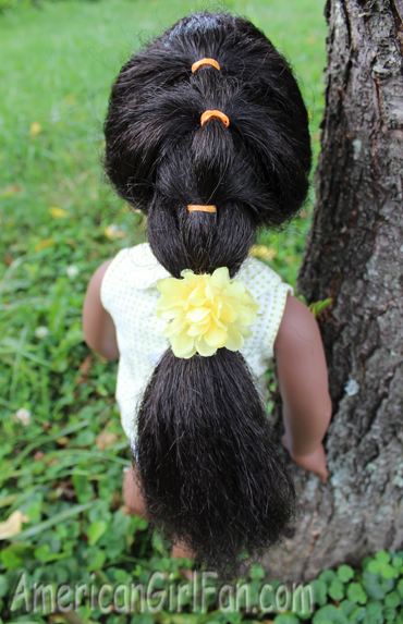 Cute And Easy Doll Hairstyles On Addy AmericanGirlFan - Hairstyles for dolls with long hair