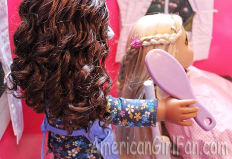 Doing hair1