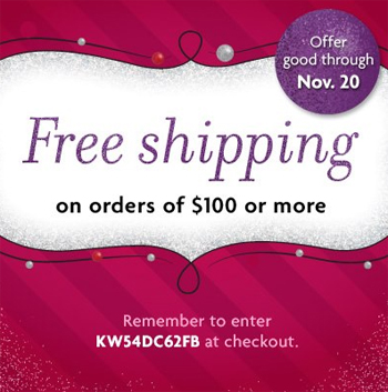 when will american girl offer free shipping