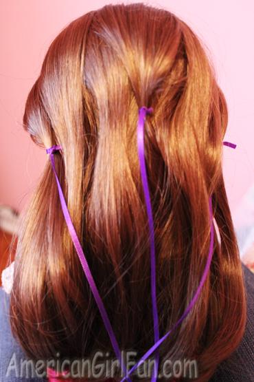 Ribbon for braid