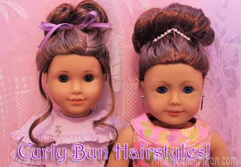 Curly Bun hairstyles