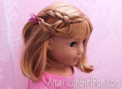 easy hairstyles for american dolls with hair hairstyles for american doll hair americangirlfan