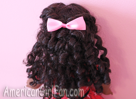 hairstyles for curly american girl doll hair