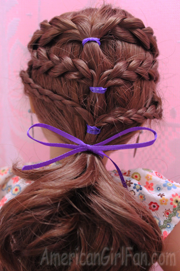 Saige hairstyle