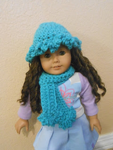 Adorable Doll Scarf Hat Sets By Danielle Americangirlfan