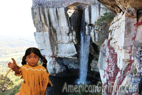 Kaya with waterfall