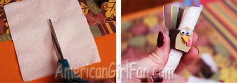 Cut napkin