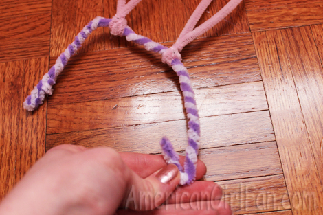 Last step of pipecleaner