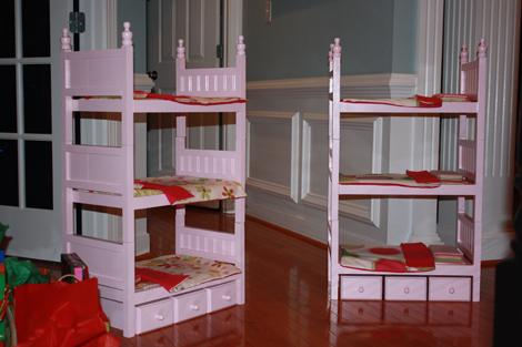 Interview   Build An American Girl Doll House   AmericanGirlFan Bunkbeds