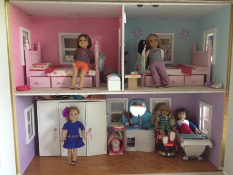 Inside the dollhouse