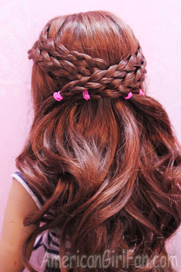 Criss cross braid