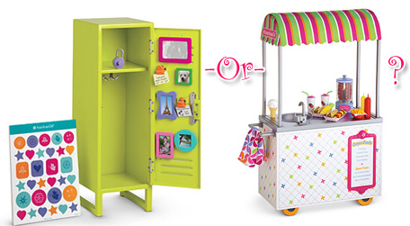 School Style Lockers School Locker or Snack Stand