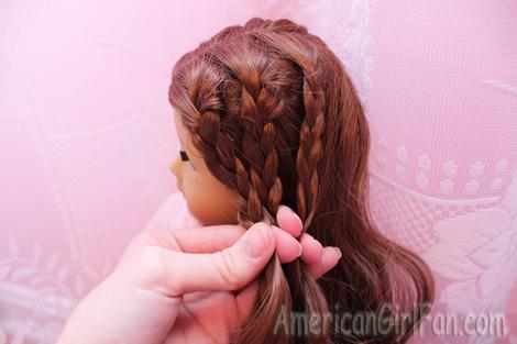 Gather braids