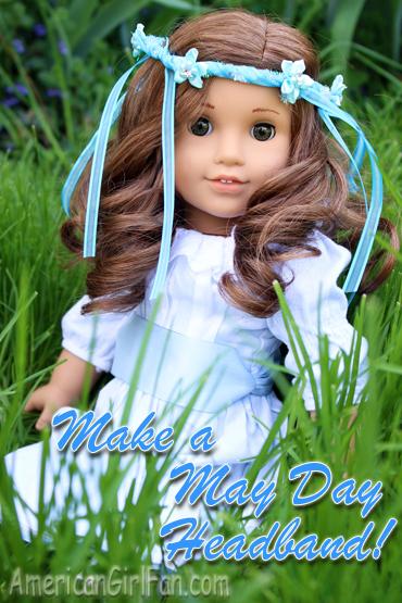 Make a May Day Headband