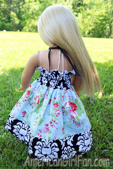 Julie back of dress