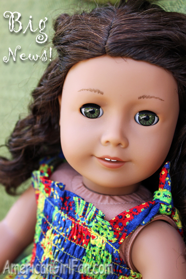 Kenley for Ana's Doll Clothes3 big news