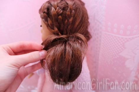 Adjust hair