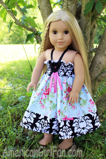 73c36b7ffbd8 Francoise has generously donated one of her Tea Party Doll Dress in blue to  give away to one of you! But, first let's take a closer look at this dress  (keep ...