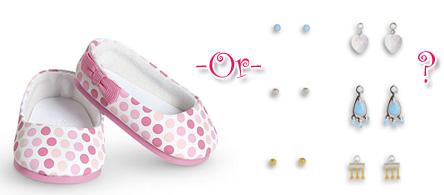 Shoes or earrings