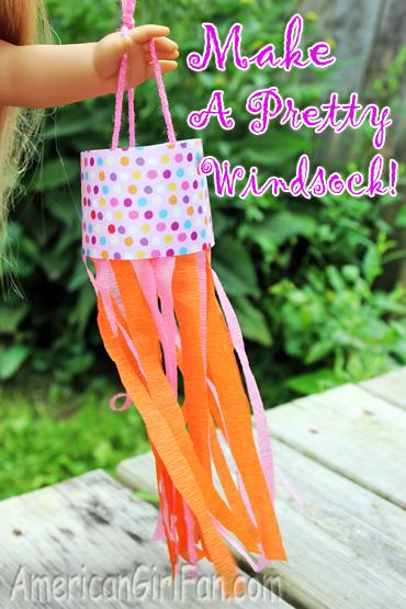 Doll Craft Make A Pretty Decorative Windsock