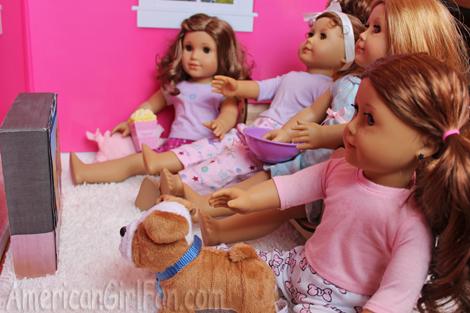 Girls watching