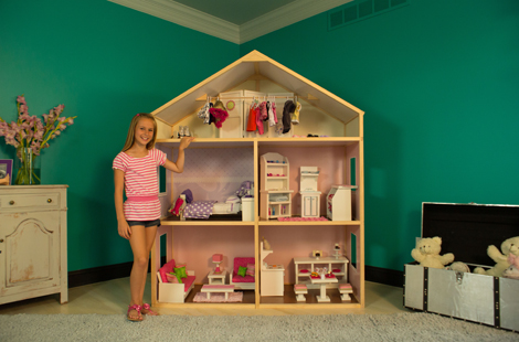 American Girl Doll House WCT