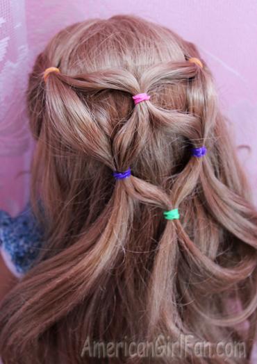 Hairstyle on elizabeth