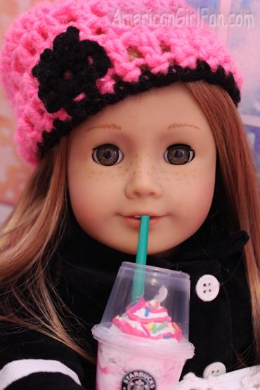 Mia drinking1