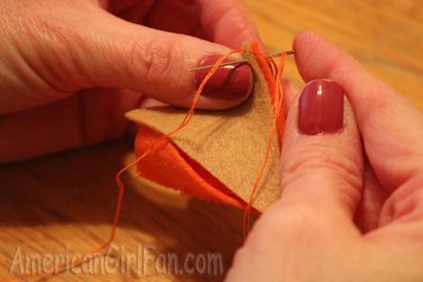 Sewing crust