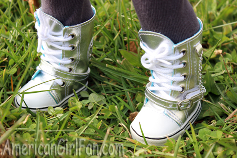 Shoes silver