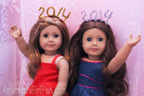 Saige and Mia for new year