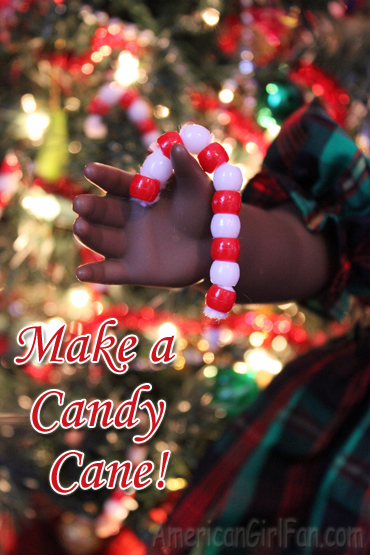 Make a candy cane