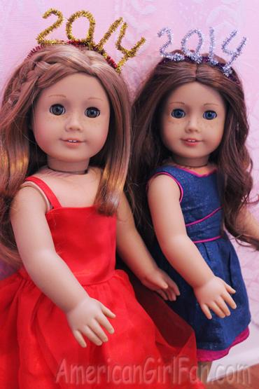 Saige and Mia wearing 1