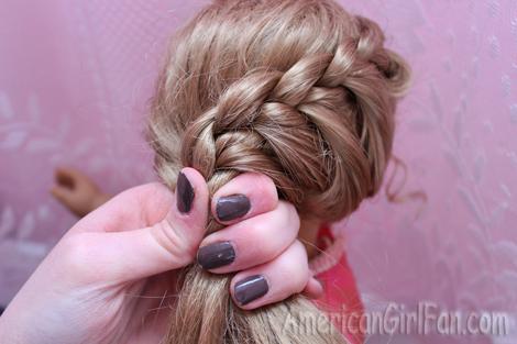 Put in ponytail