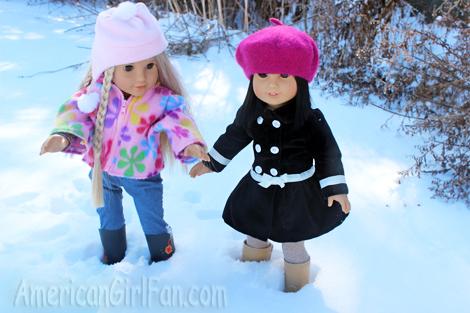 Walking in snow1