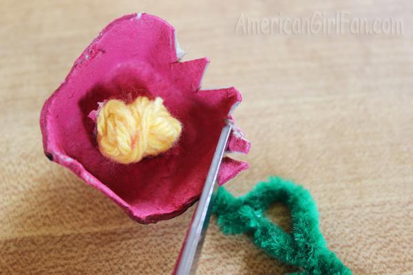 Cut petals